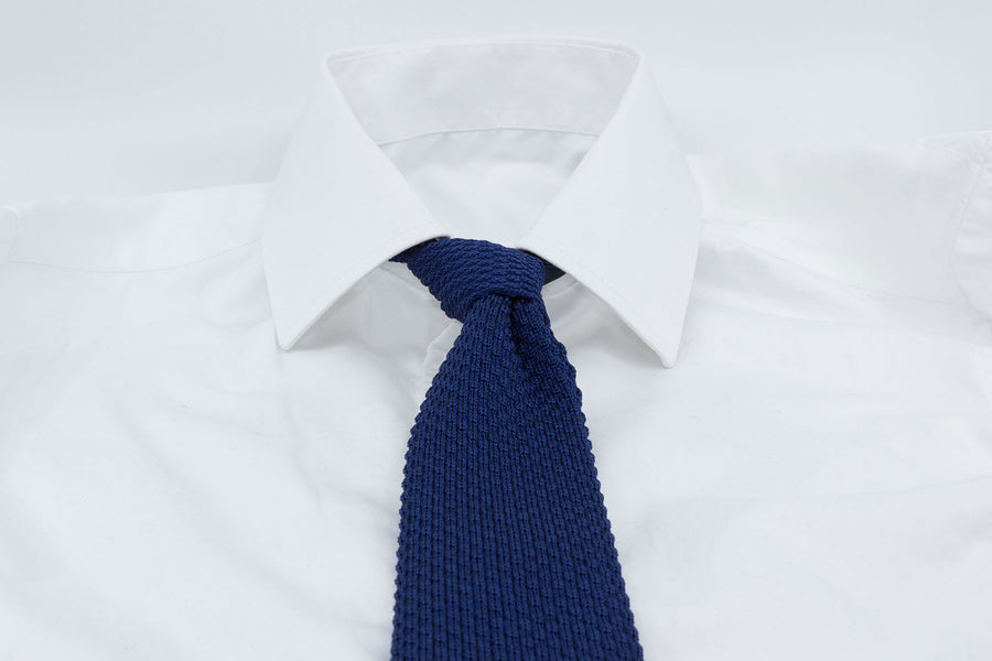 Tricot Tie - Blue - Another Dandy