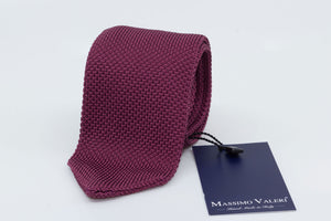 Tricot Tie - Burgundy - Another Dandy