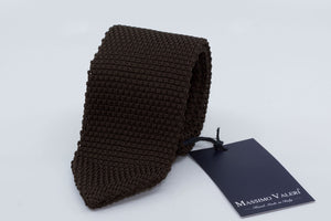 Tricot Tie - Chocolate