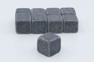Natural Whisky Stones 9-pack - Dark grey - Another Dandy