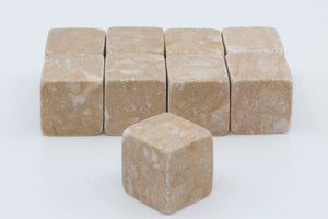 Natural Whisky Stones 9-pack - Sand