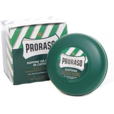 Proraso Shaving Soap Bowl Refreshing and Toning Eucalyptus