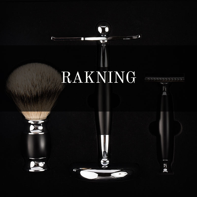 Shaving products, shaving soap, shaving cream, shaving sets, traditional, old school shaving sets, double edge razors and razor blades, safety razors, shaving brush in badger hair, silvertip shaving brush. Beard combs. After shave balm.