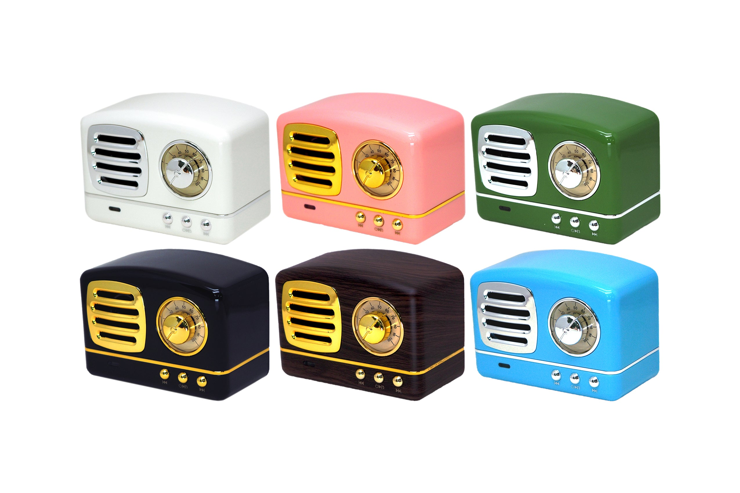 Retro Radio Bluetooth Speaker