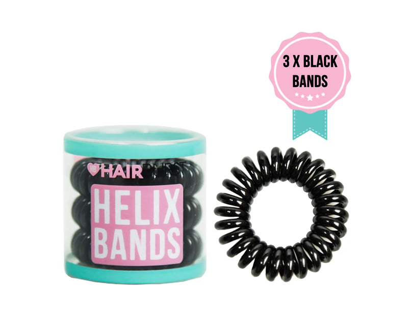 Free Black Helix Bands
