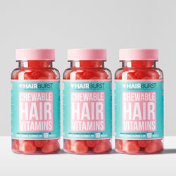 Chewable Hair Vitamins 3 Month Supply