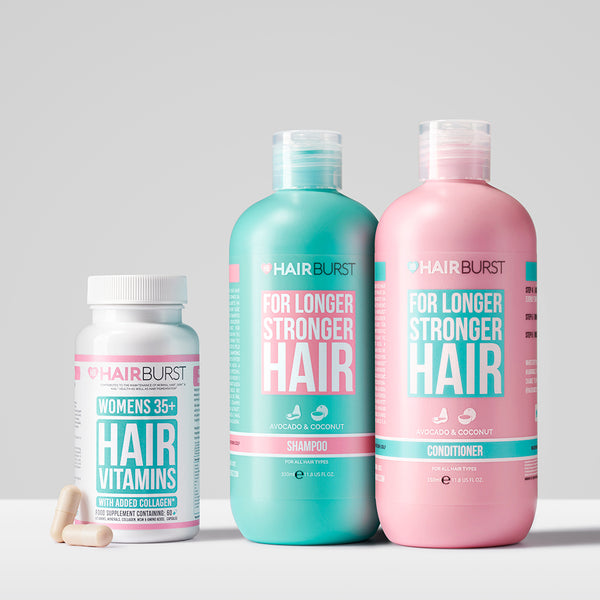 The 35+ Hair Growth Bundle - Added Collagen