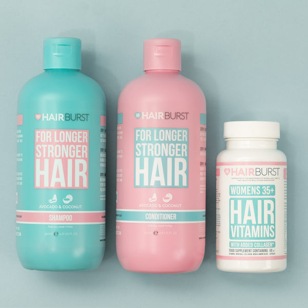 Hairburst Hair Vitamins for Women 35+ and Shampoo & Conditioner Bundle