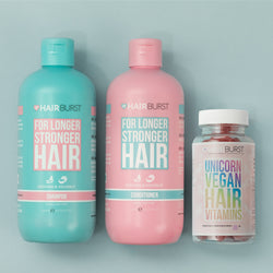 Hairburst Unicorn Vegan Hair Vitamins and Shampoo & Conditioner Bundle