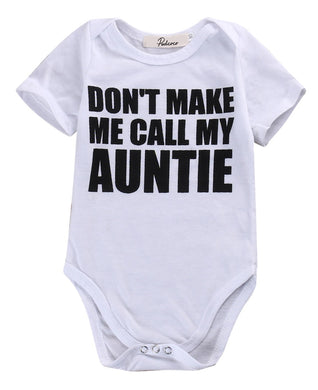 Don't Make Me Call My Aunty Romper