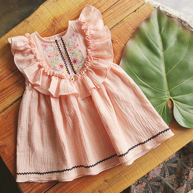 BoHo Dress Peach or Navy