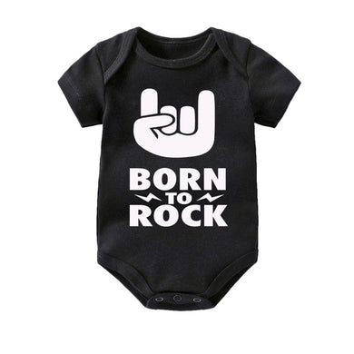 Born To Rock Romper