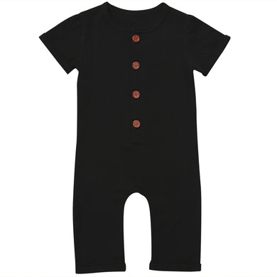 Unisex Short Sleeve Jumpsuit