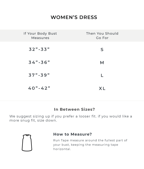 The Blue Printed Sheath Dress Size Guide