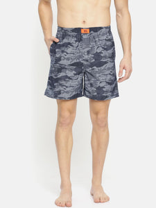Bareblow Denim Midnight Camo Print