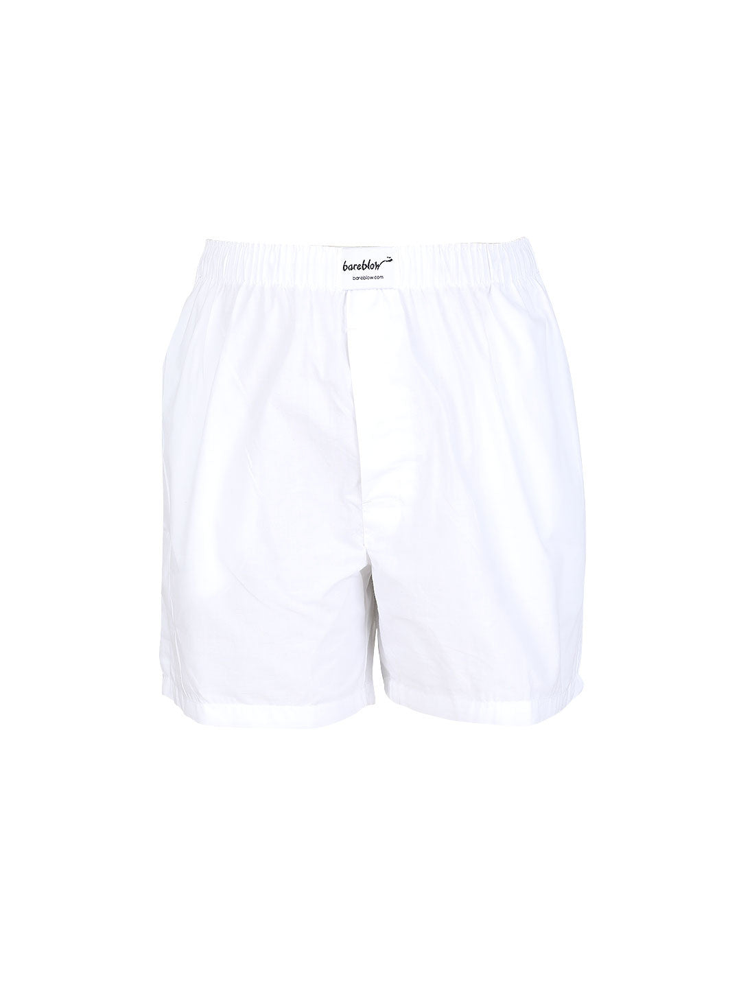 The Solid Boxer - White