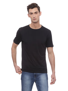 Bareblow T-Shirt With Crew Neck In Black