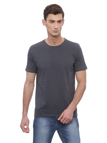 Bareblow Crew Tee - Night Grey