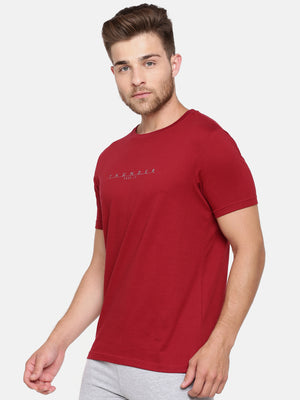 Bareblow Blood Red Crew Tee