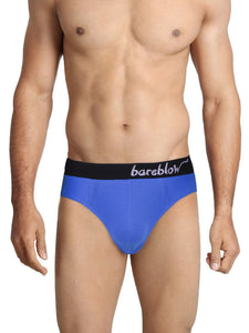 Tahiti Blue Cotton Briefs