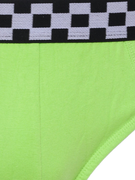 Go Green Briefs with Racing Band