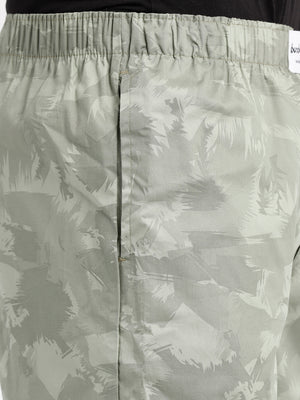 Bareblow Boxers with Leaf Print