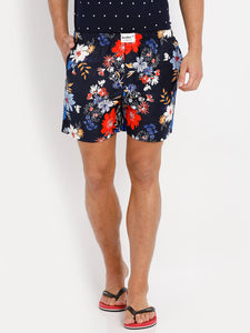 Bareblow Woven Boxers with Floral Print