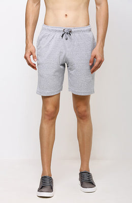 The Grey is on High Easy Shorts