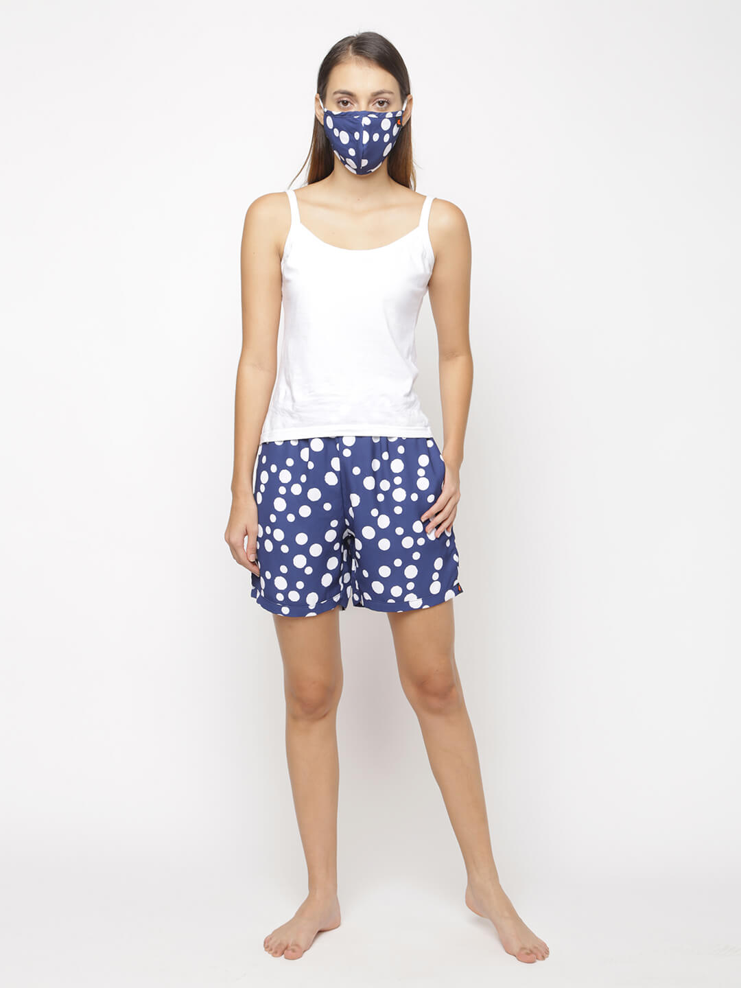 The Polka by the Blue Women WFH Shorts