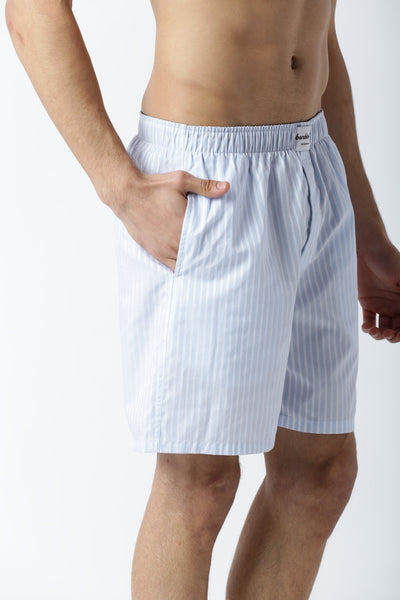 Bareblow Woven Boxers with Classic Stripes