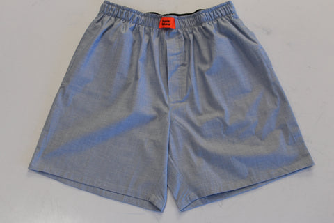 The Bareblow Oxford Blue Boxers