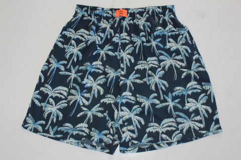 The Bareblow Tropical Sky Leaf Printed Boxer