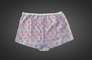 The Flaming-O-Ice - Women's Boy Short