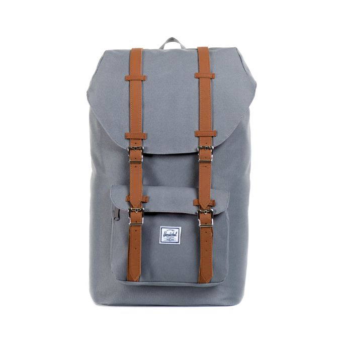 Herschel Little America Backpack - Grey/Tan