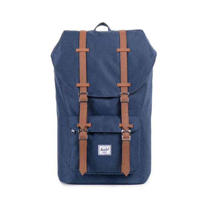 Herschel Little America Backpack - Navy/Tan