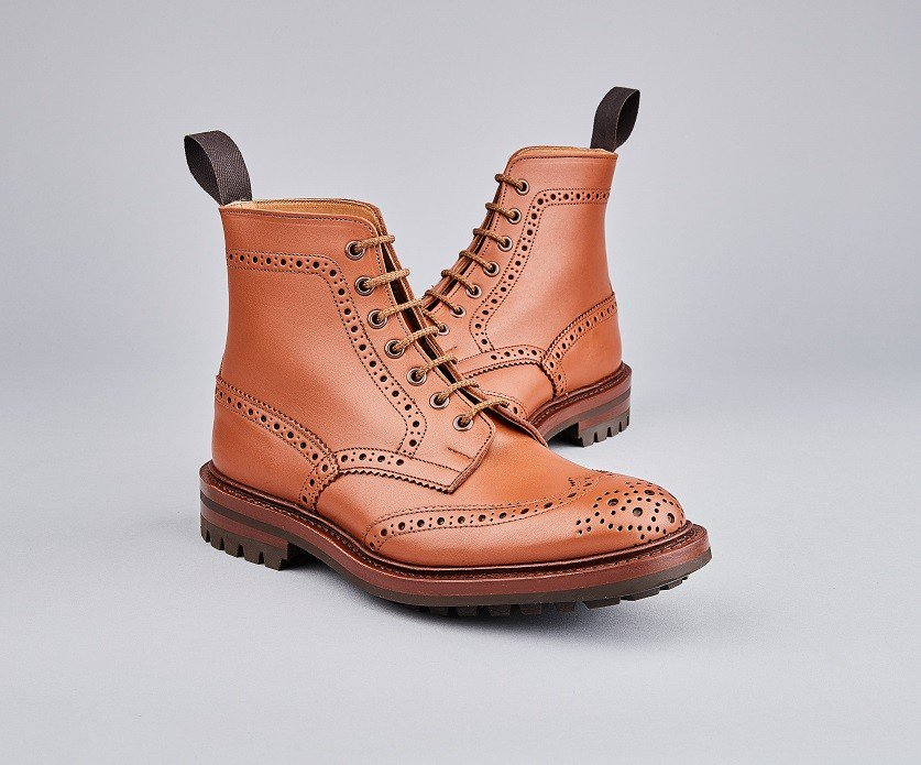 Malton Country Boot in C Shade Tan