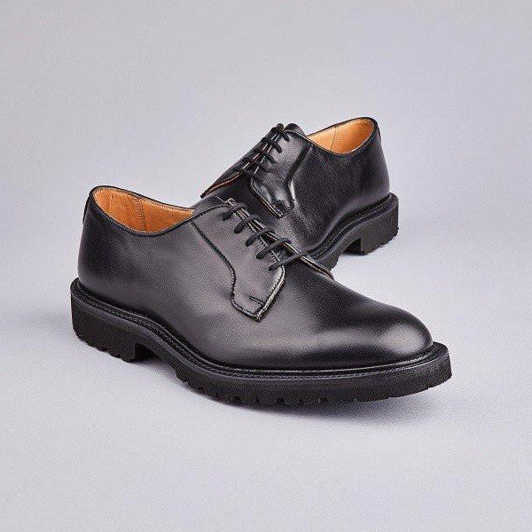 Robert Derby Shoe in Black