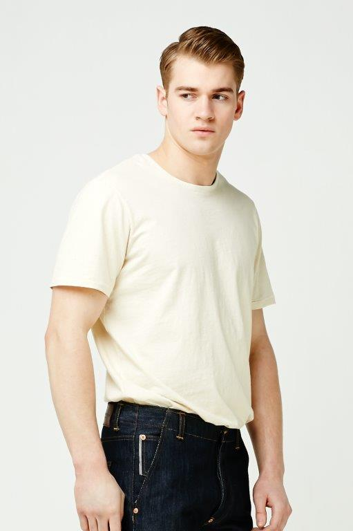 The Cooper Collection by Lee Cooper Aaron T-Shirt - Ecru