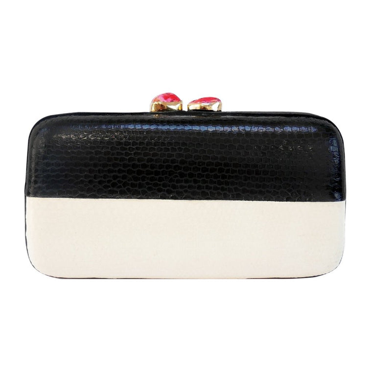 Mila Monochrome Clutch