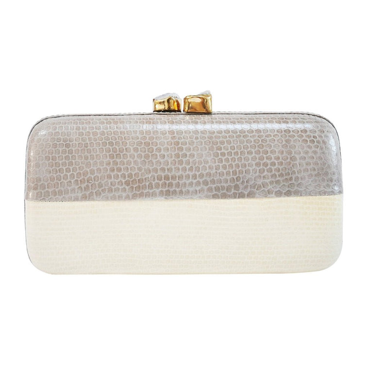 Mila Grey Clutch