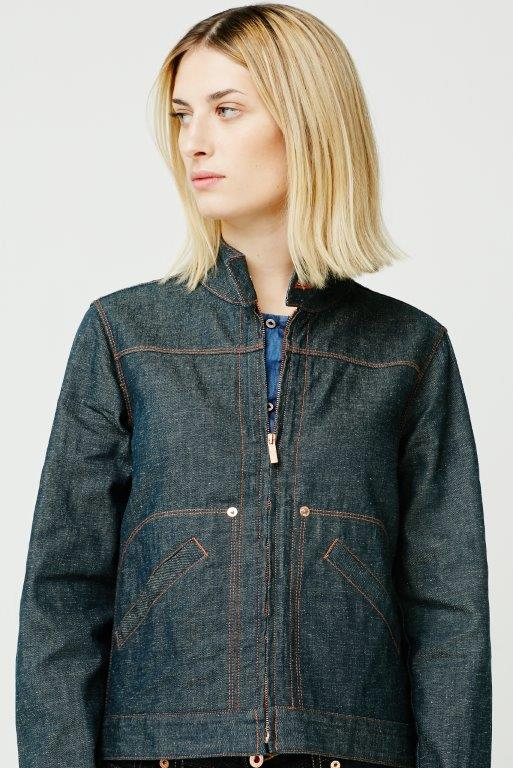 The Cooper Collection by Lee Cooper Audrey Denim Jacket - Indigo