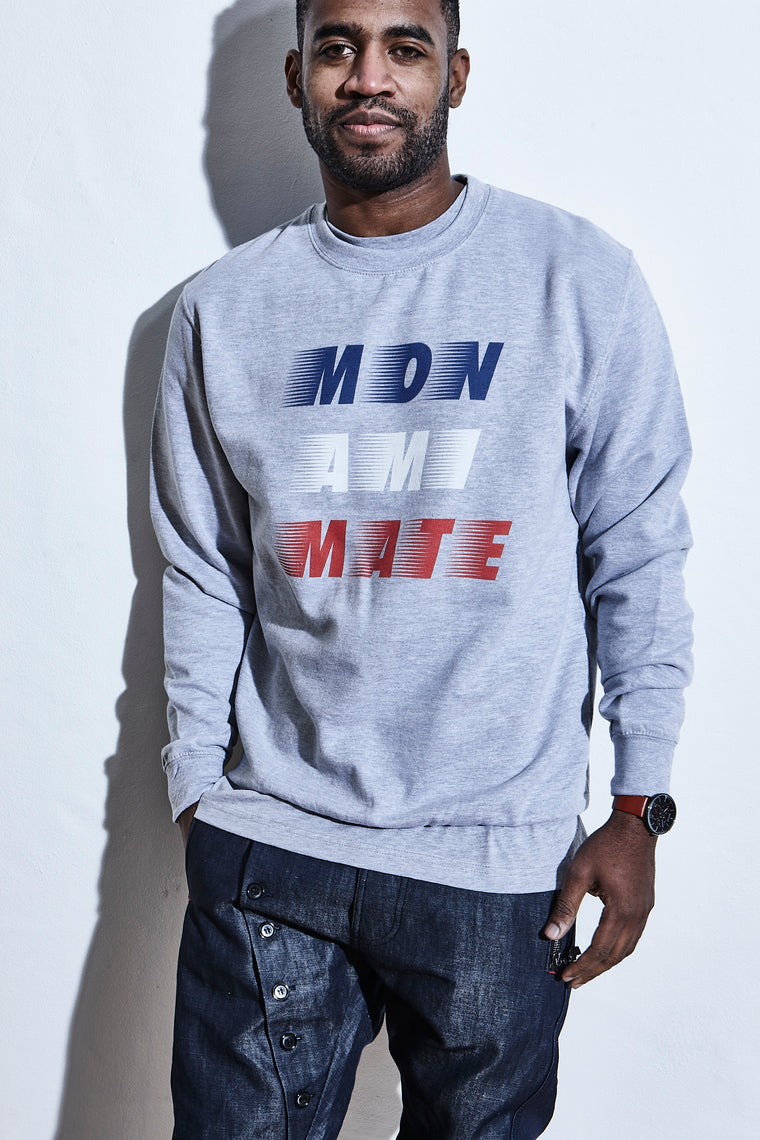 Elensa Race To Immortality - Crew Sweat - Mon Ami Mate