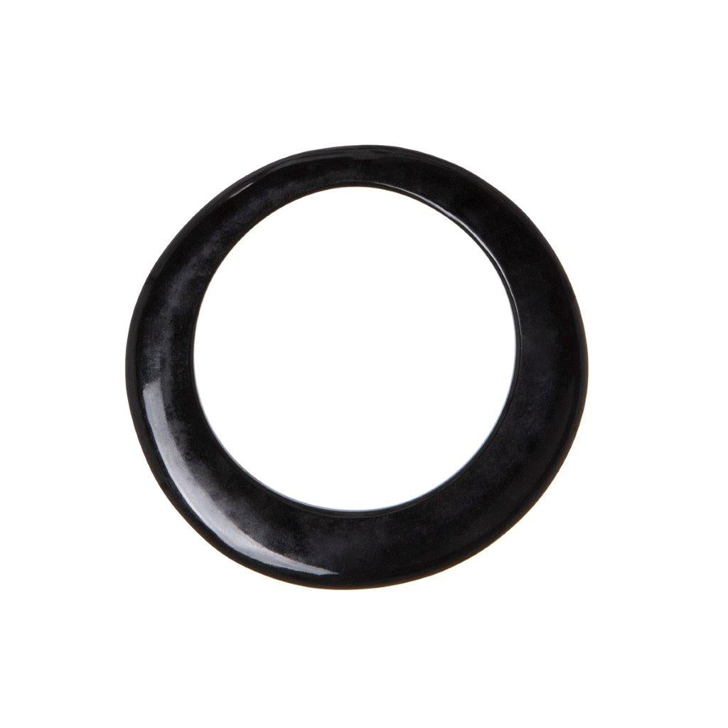 Sam Ubhi Buffalo Horn Bangle - Black