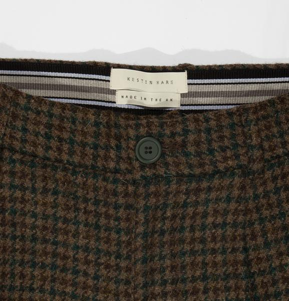 Hull Trouser in Brown Check
