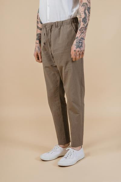 Kestin Hare Inverness Trousers in Brown Check
