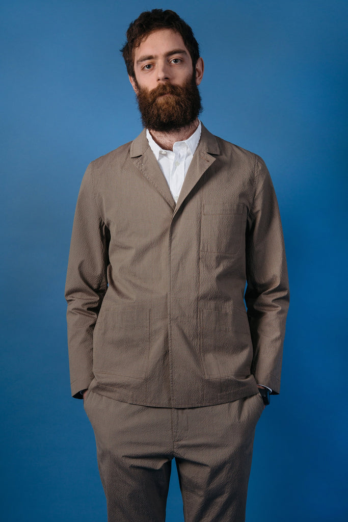 Kestin Hare Kenmore Blazer in Brown Check