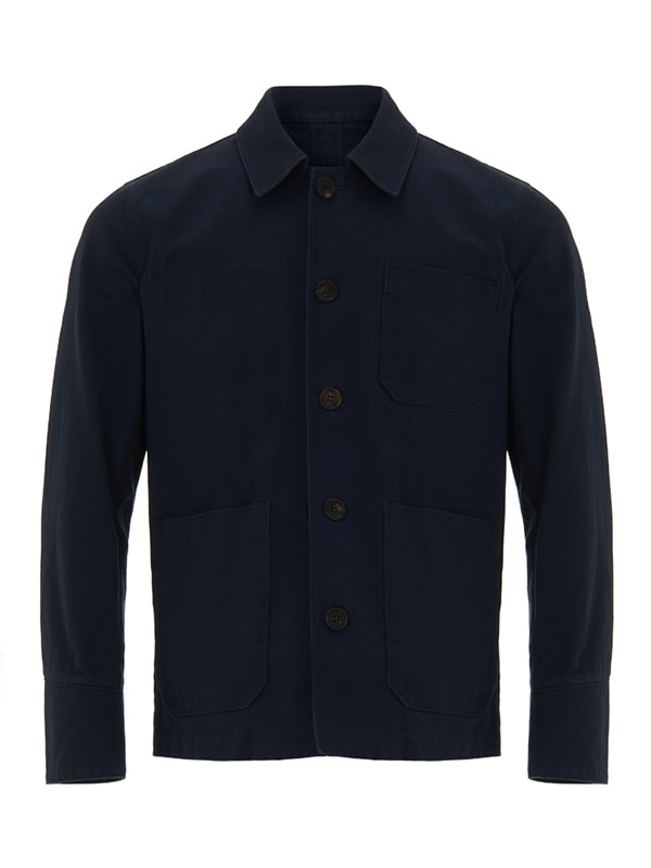 Letters From Norman Stanley Workwear Jacket - Navy