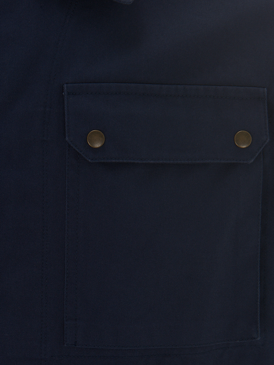 Letters From Norman Ali Military Shirt Jacket - Navy