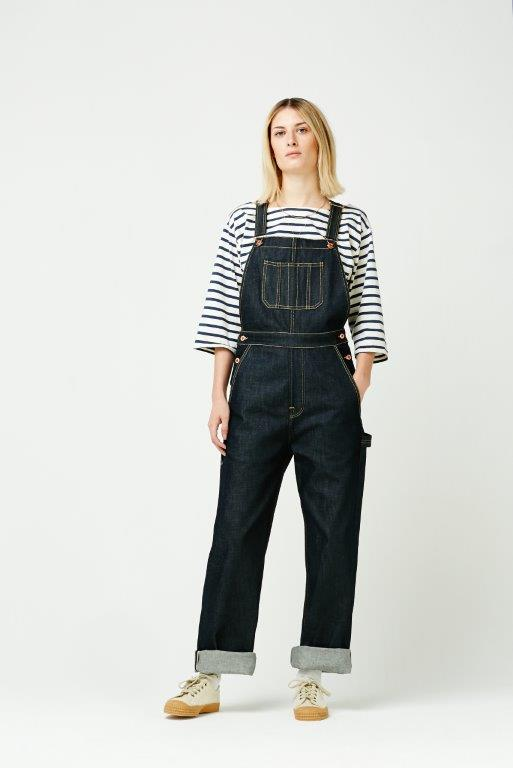 The Cooper Collection by Lee Cooper Linda Denim Dungaree - Indigo