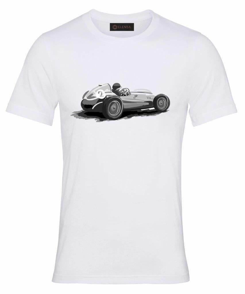 Elensa Race To Immortality - T-Shirt - Negative Car Print